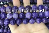 CCG147 15.5 inches 14mm round charoite gemstone beads