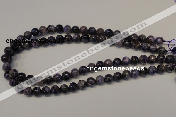 CCG27 15.5 inches 10mm round natural charoite gemstone beads
