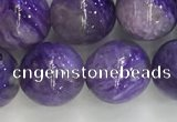 CCG303 15.5 inches 10mm round natural charoite gemstone beads