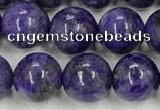 CCG311 15.5 inches 8mm round dyed charoite beads wholesale