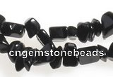 CCH02 35 inches black agate chips gemstone beads wholesale