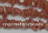 CCH209 16 inches 3*5mm rhodochrosite chips gemstone beads wholesale