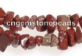 CCH28 35 inches red jasper chips gemstone beads wholesale