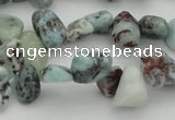 CCH632 15.5 inches 6*8mm - 10*14mm larimar amazonite chips beads