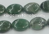 CCJ05 15.5 inches 13*18mm oval natural African jade beads wholesale