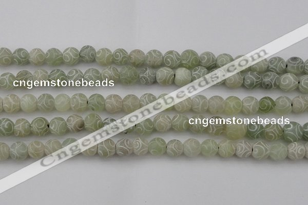 CCJ203 15.5 inches 10mm round China jade beads wholesale