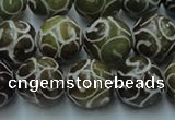 CCJ304 15.5 inches 12mm round China jade beads wholesale