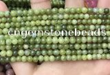CCJ330 15.5 inches 4mm round green China jade beads wholesale