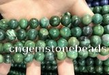 CCJ403 15.5 inches 10mm round west African jade beads wholesale