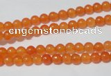 CCN03 15.5 inches 4mm round candy jade beads wholesale