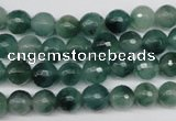 CCN1283 15.5 inches 8mm faceted round rainbow candy jade beads