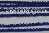 CCN1314 15.5 inches 3mm faceted round candy jade beads wholesale