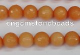 CCN1823 15 inches 10mm faceted round candy jade beads wholesale
