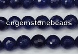 CCN1963 15 inches 10mm faceted round candy jade beads wholesale