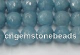 CCN2018 15 inches 10mm faceted round candy jade beads wholesale