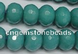 CCN2105 15.5 inches 12*16mm faceted rondelle candy jade beads