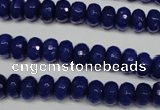 CCN2119 15.5 inches 5*8mm faceted rondelle candy jade beads