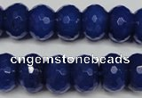 CCN2122 15.5 inches 10*14mm faceted rondelle candy jade beads