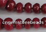 CCN2754 15.5 inches 5*8mm - 12*16mm faceted rondelle candy jade beads