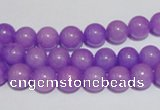 CCN40 15.5 inches 8mm round candy jade beads wholesale