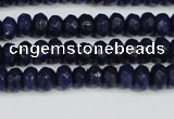 CCN4143 15.5 inches 4*6mm faceted rondelle candy jade beads