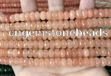 CCN5136 15 inches 5*8mm faceted rondelle candy jade beads