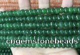 CCN5159 15 inches 5*8mm faceted rondelle candy jade beads