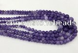 CCN5203 6mm - 14mm round candy jade graduated beads