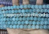 CCN5431 15 inches 8mm round candy jade beads Wholesale