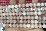 CCN5492 15 inches 8mm round candy jade beads Wholesale