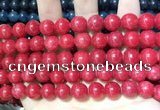 CCN5535 15 inches 8mm round candy jade beads Wholesale