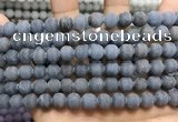 CCN5626 15 inches 8mm round matte candy jade beads Wholesale