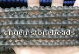 CCN5628 15 inches 8mm round matte candy jade beads Wholesale