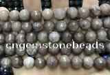 CCN5771 15 inches 10mm faceted round candy jade beads