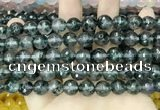 CCN5828 15 inches 10mm faceted round candy jade beads