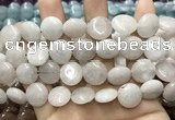 CCN5859 15 inches 15mm flat round candy jade beads Wholesale