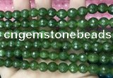 CCN6302 15.5 inches 8mm faceted round candy jade beads Wholesale