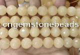CCN6349 6mm, 8mm, 10mm, 12mm & 14mm faceted round candy jade beads