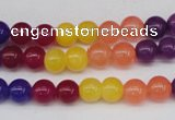 CCN84 15.5 inches 6mm round candy jade beads wholesale