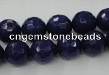 CCN850 15.5 inches 14mm faceted round candy jade beads wholesale
