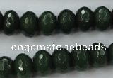 CCN913 15.5 inches 9*12mm faceted rondelle candy jade beads