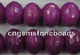 CCN946 15.5 inches 14*18mm faceted rondelle candy jade beads