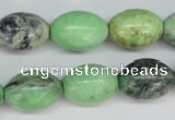 CCO23 15.5 inches 13*18mm rice natural chrysotine beads