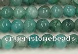 CCS871 15.5 inches 3mm round natural chrysocolla gemstone beads