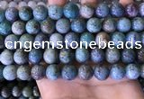 CCS891 15 inches 12mm round natural chrysocolla beads wholesale