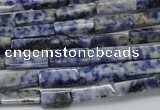 CCU520 15.5 inches 4*13mm cuboid sodalite gemstone beads wholesale