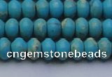 CDE2642 15.5 inches 8*12mm rondelle dyed sea sediment jasper beads
