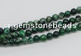 CDE68 15.5 inches 4mm round dyed sea sediment jasper beads