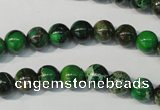 CDI956 15.5 inches 8mm round dyed imperial jasper beads