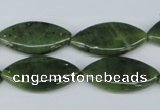 CDJ124 15.5 inches 12*25mm marquise Canadian jade beads wholesale
